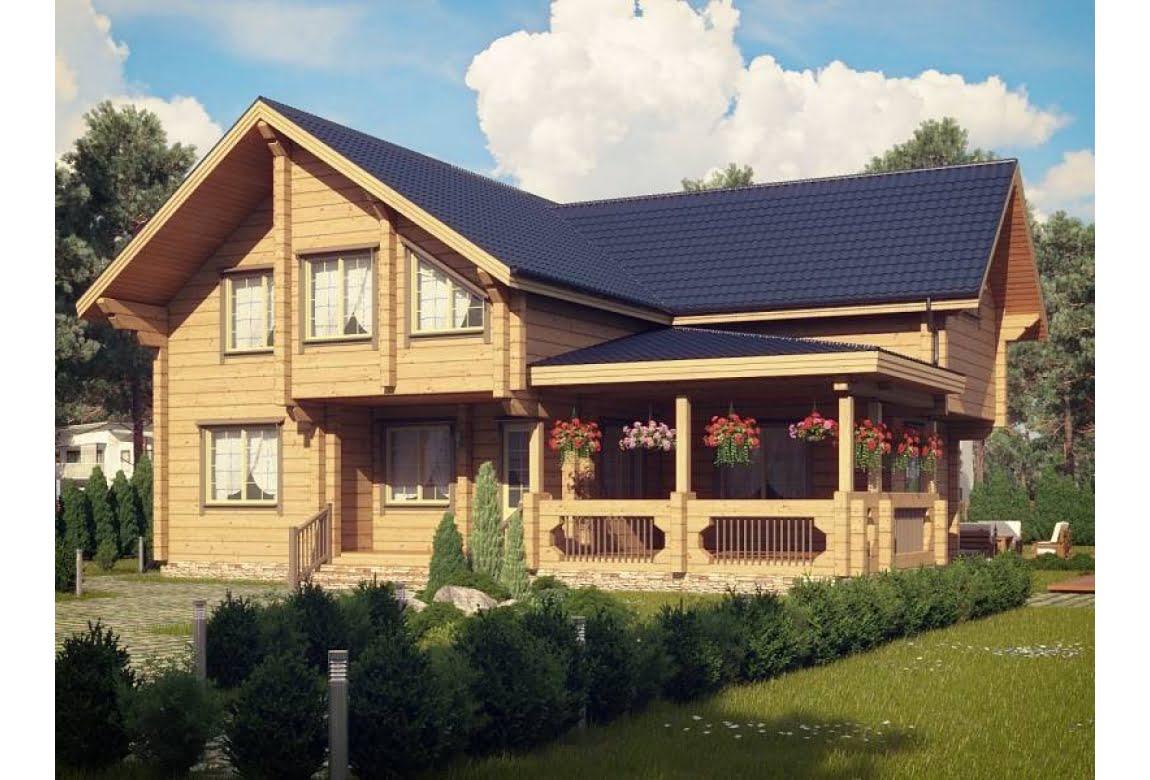 Деревянный дом Марсель