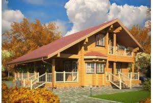 Деревянный дом Метрополь