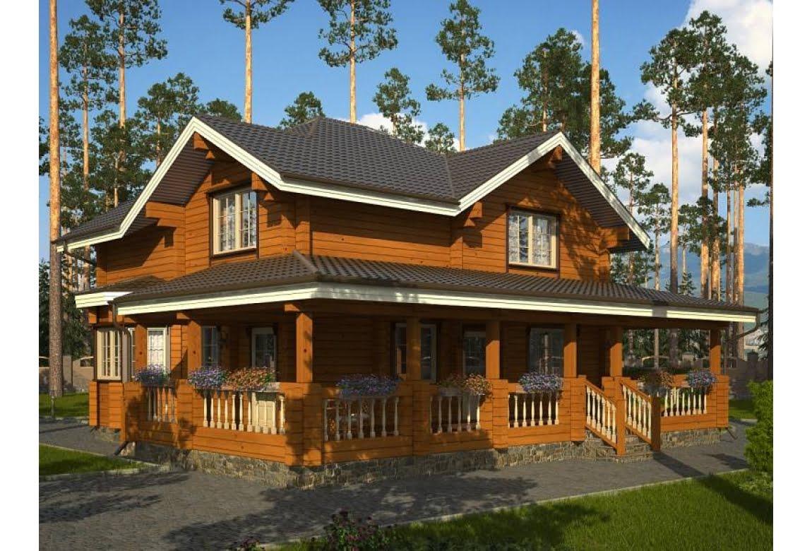 Деревянный дом Монреаль