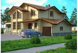 Деревянный дом Палермо
