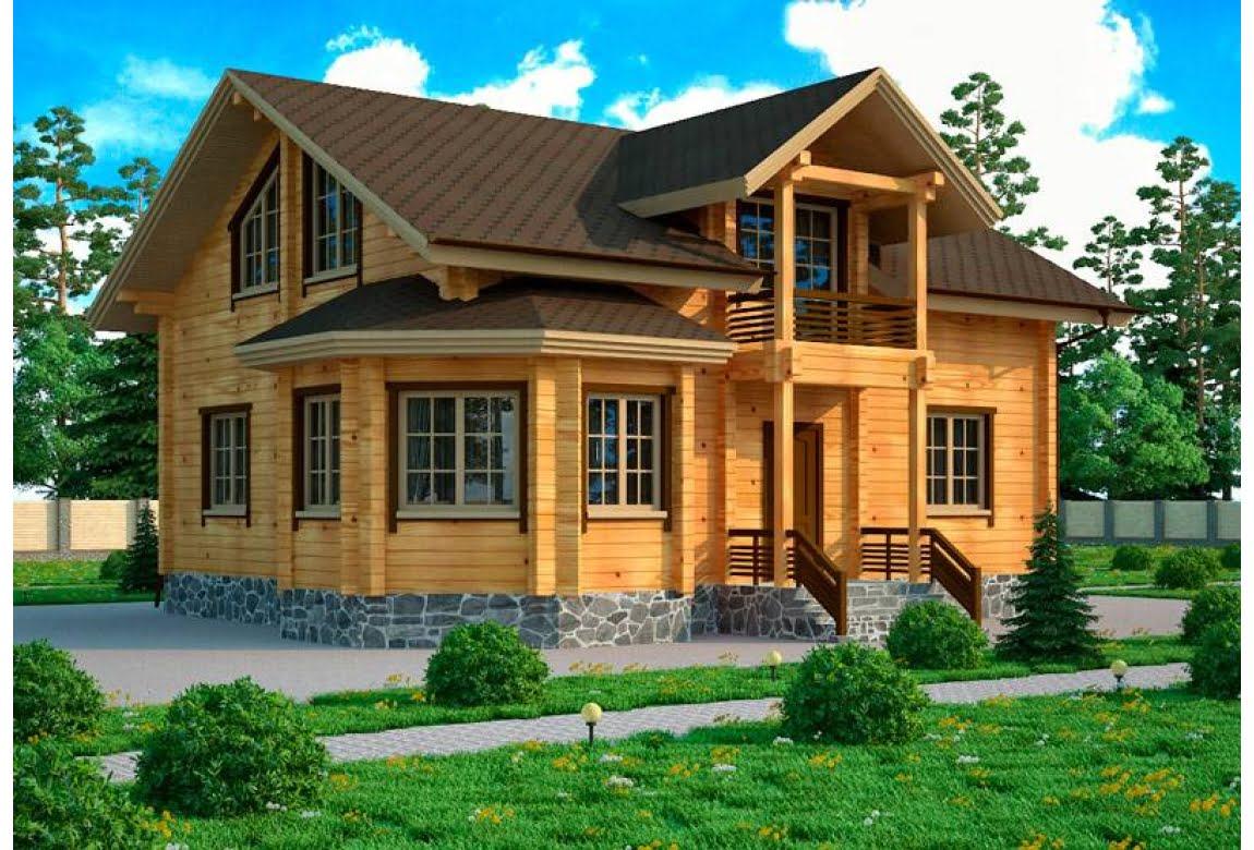 Деревянный дом Сантьяго