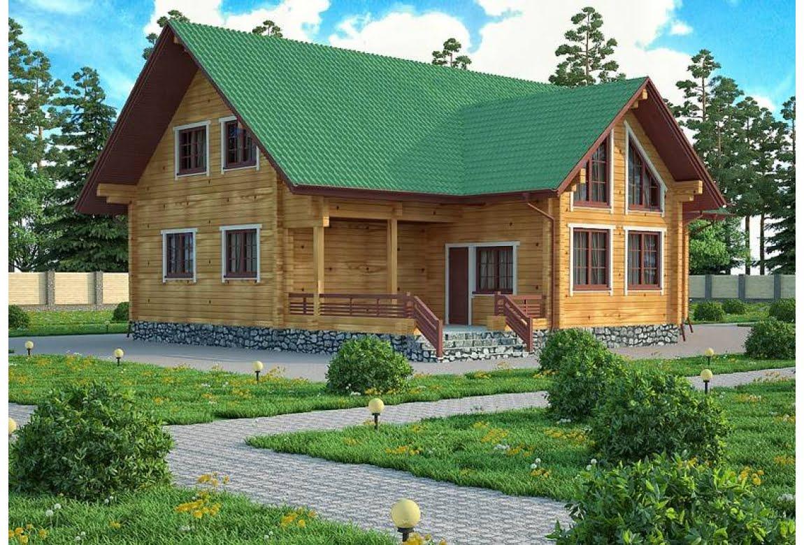 Деревянный дом Авила