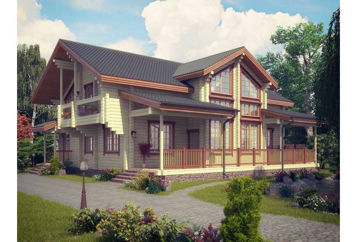 Деревянный дом Бордо