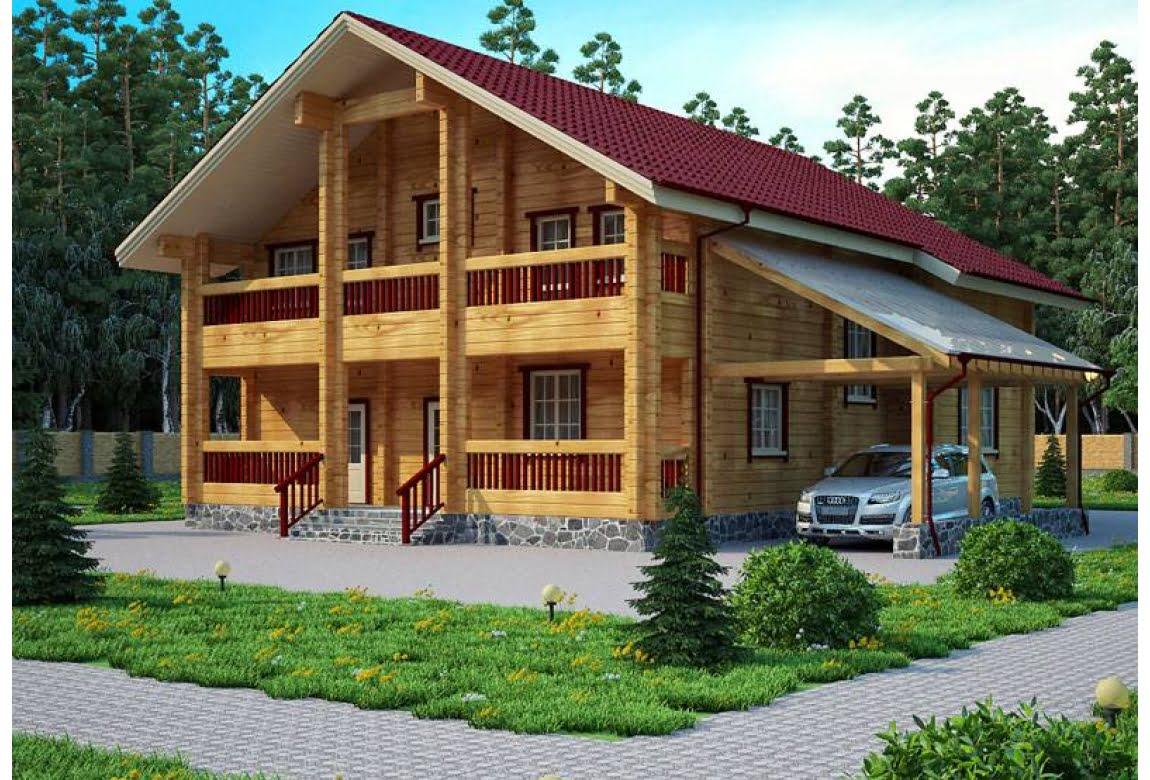 Деревянный дом Зальцбург