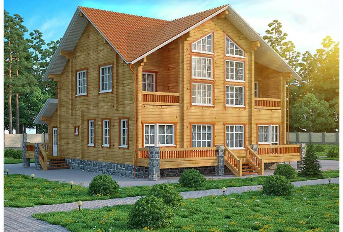 Дом из клееного бруса Инсбург