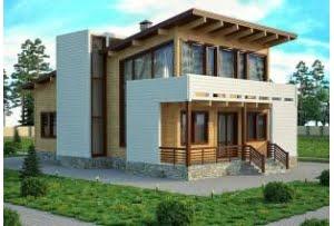 Деревянный дом Кельн