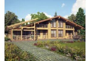 Дом из профилированного бруса Лозанна