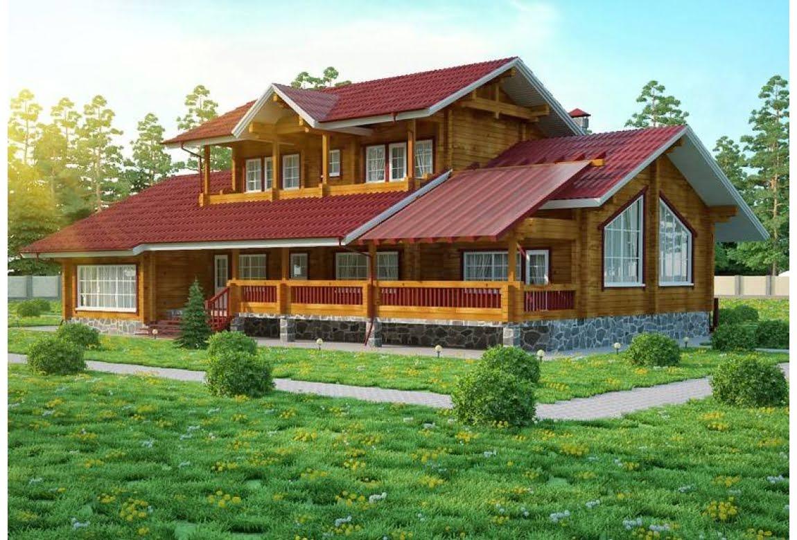 Деревянный дом Орлеан