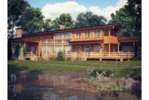 Дом из профилированного бруса Финляндия