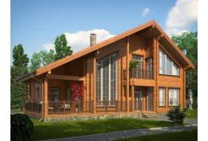 Деревянный дом Цюрих