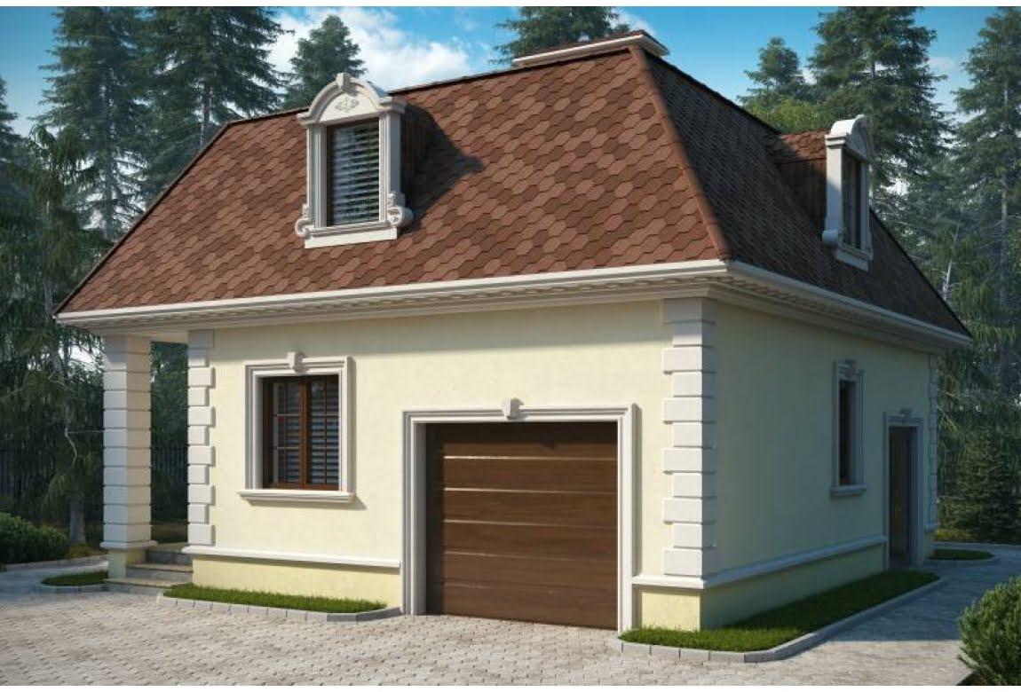 Проект гаража Лаура