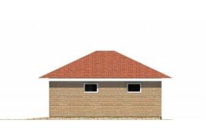 Проект гаража МП-806