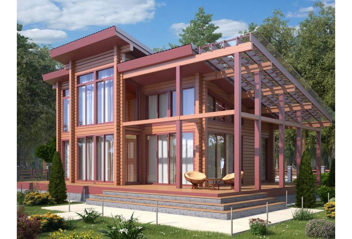 Деревянный дом Лямарш 230