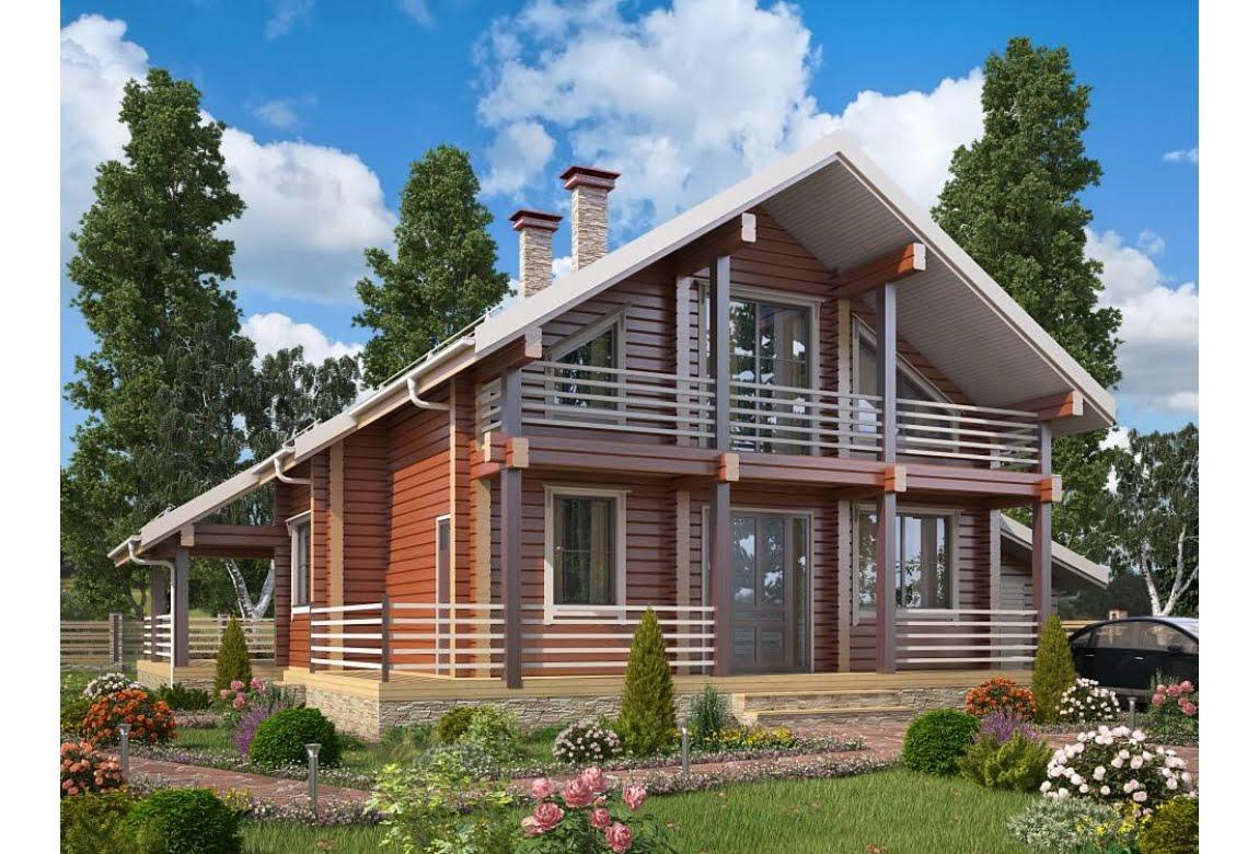 Деревянный дом Берген 265