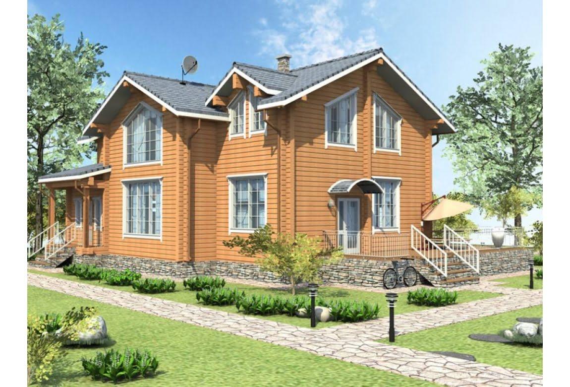 Деревянный дом Вильянди 250