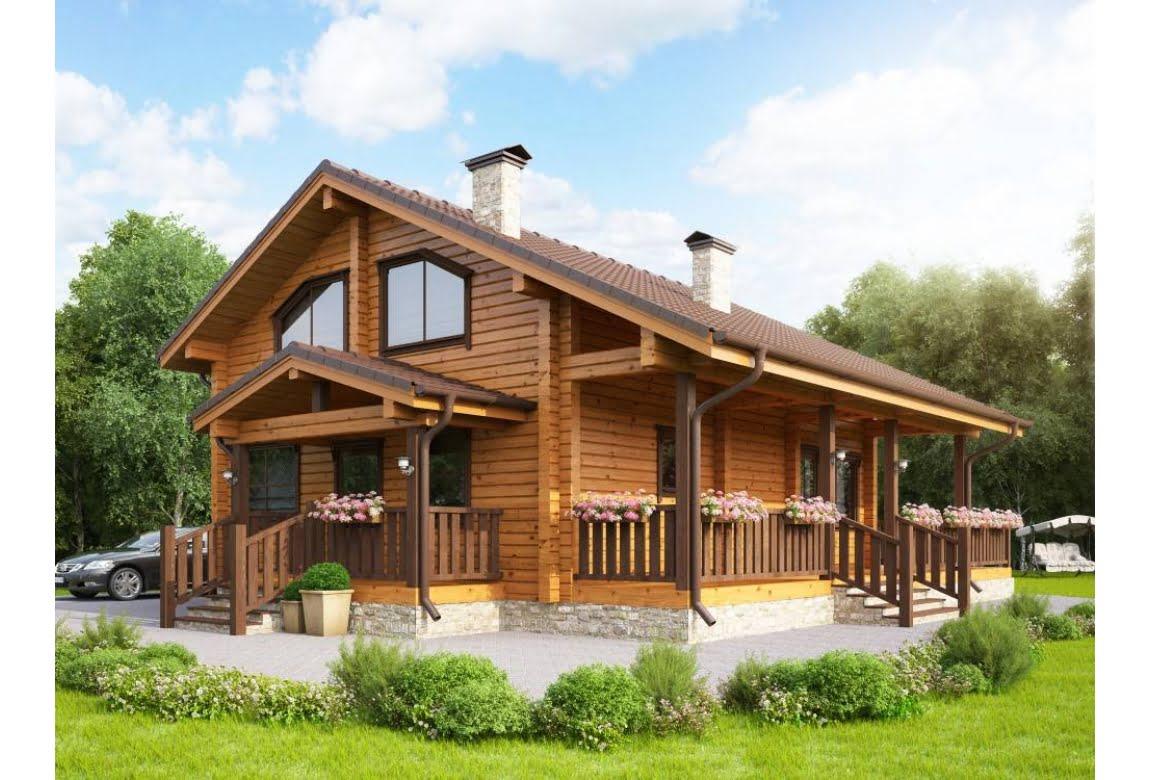 Деревянный дом Грин 210