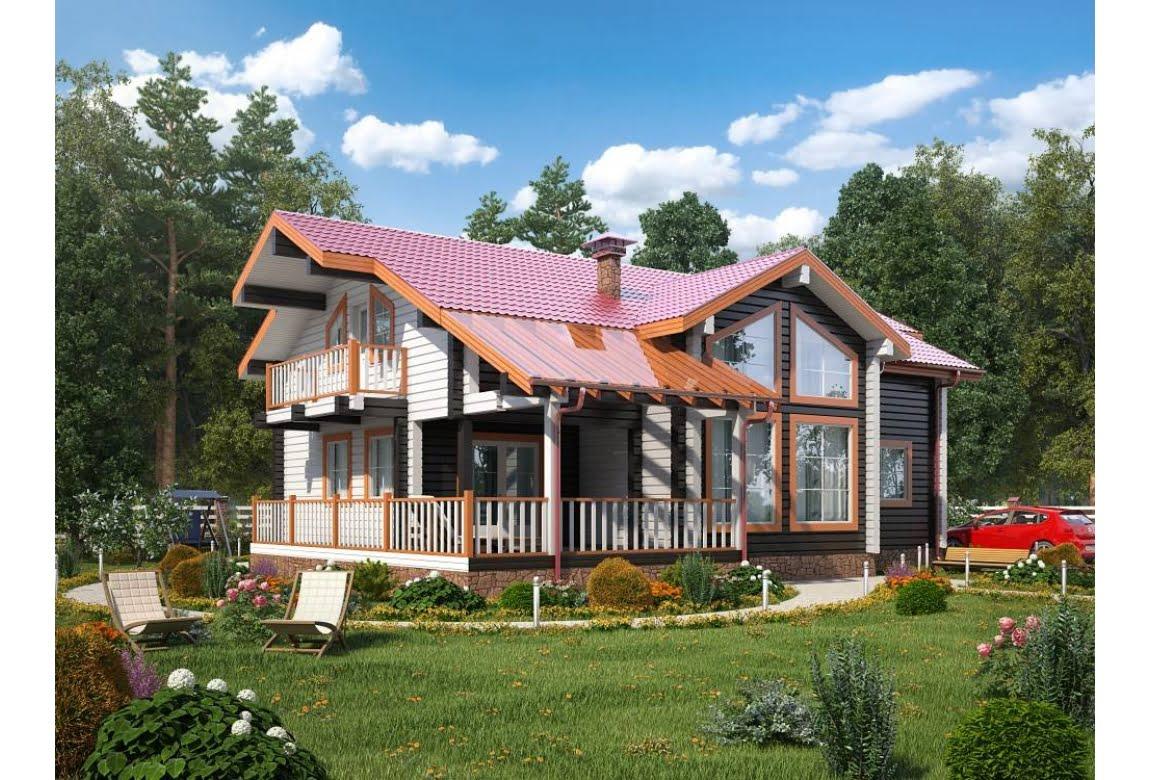 Деревянный дом Грин 280