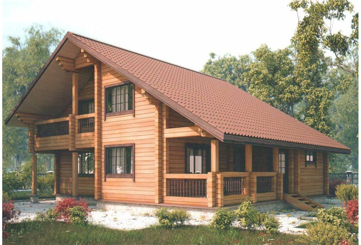 Дом из клееного бруса Новая Верона