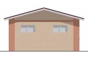 Проект гаража ГР-010