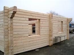 Gradnja hiše iz profiliranega lesa