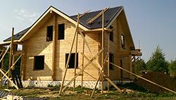 Строительство дома из клееного бруса в Хотьково