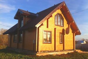 Дом из клееного бруса в Серпухове