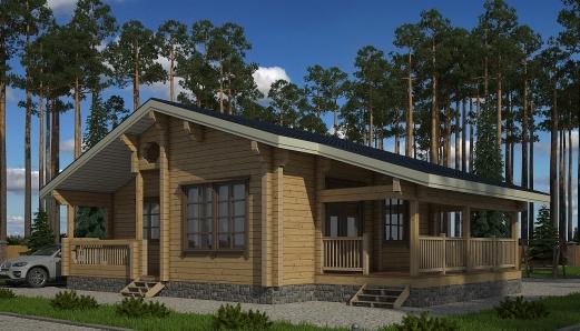 Проекты домов с мансардой - allhomesru