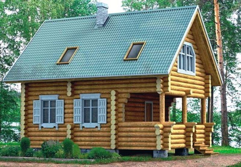 Проект дома - Зимородок - вариант I - Муратор ВМ15а