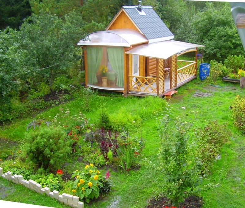 Садовые веранды фото