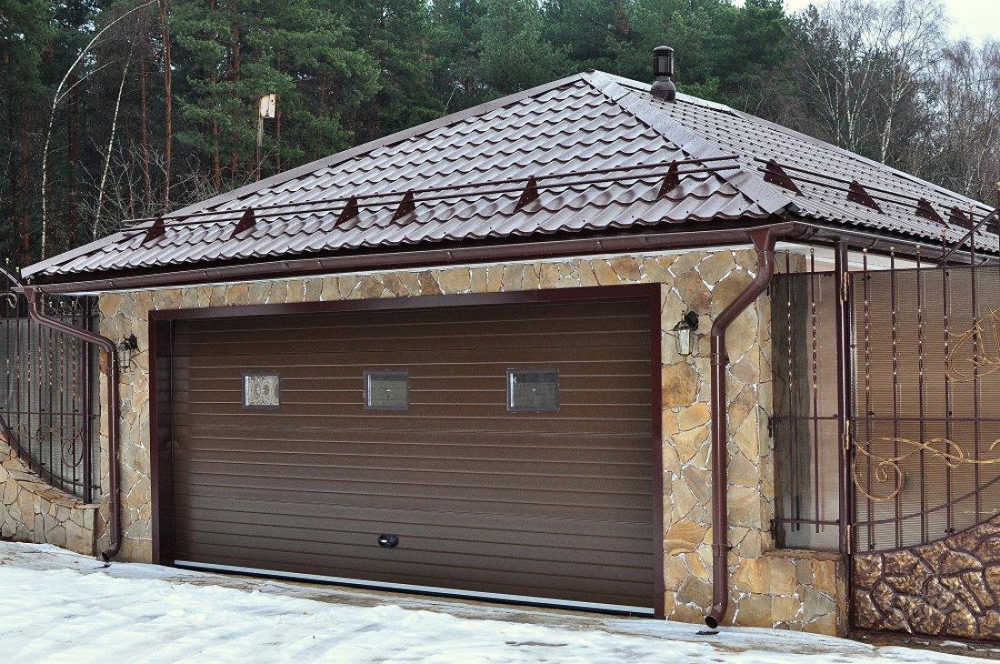 Фото как построить гараж своими руками