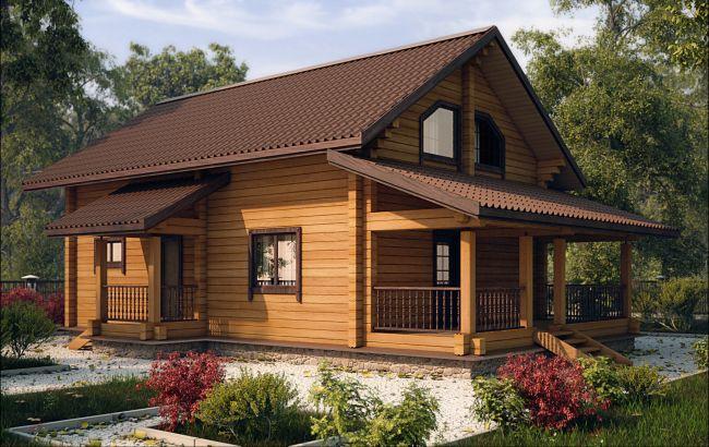 фото дома из цены бруса недорого проекты