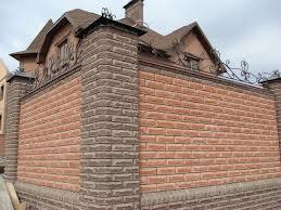 Фото домов из гиперпрессованного кирпича