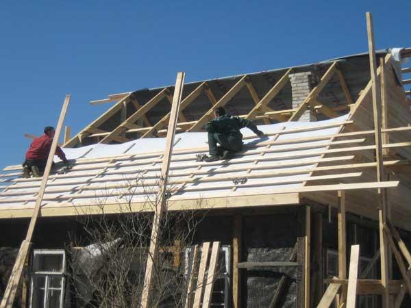 Технология строительства крыши дома