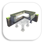 Строительство фундамента под дом из СИП