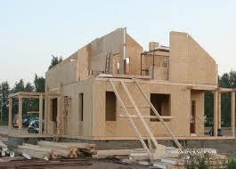 Строительство стен каркасного дома