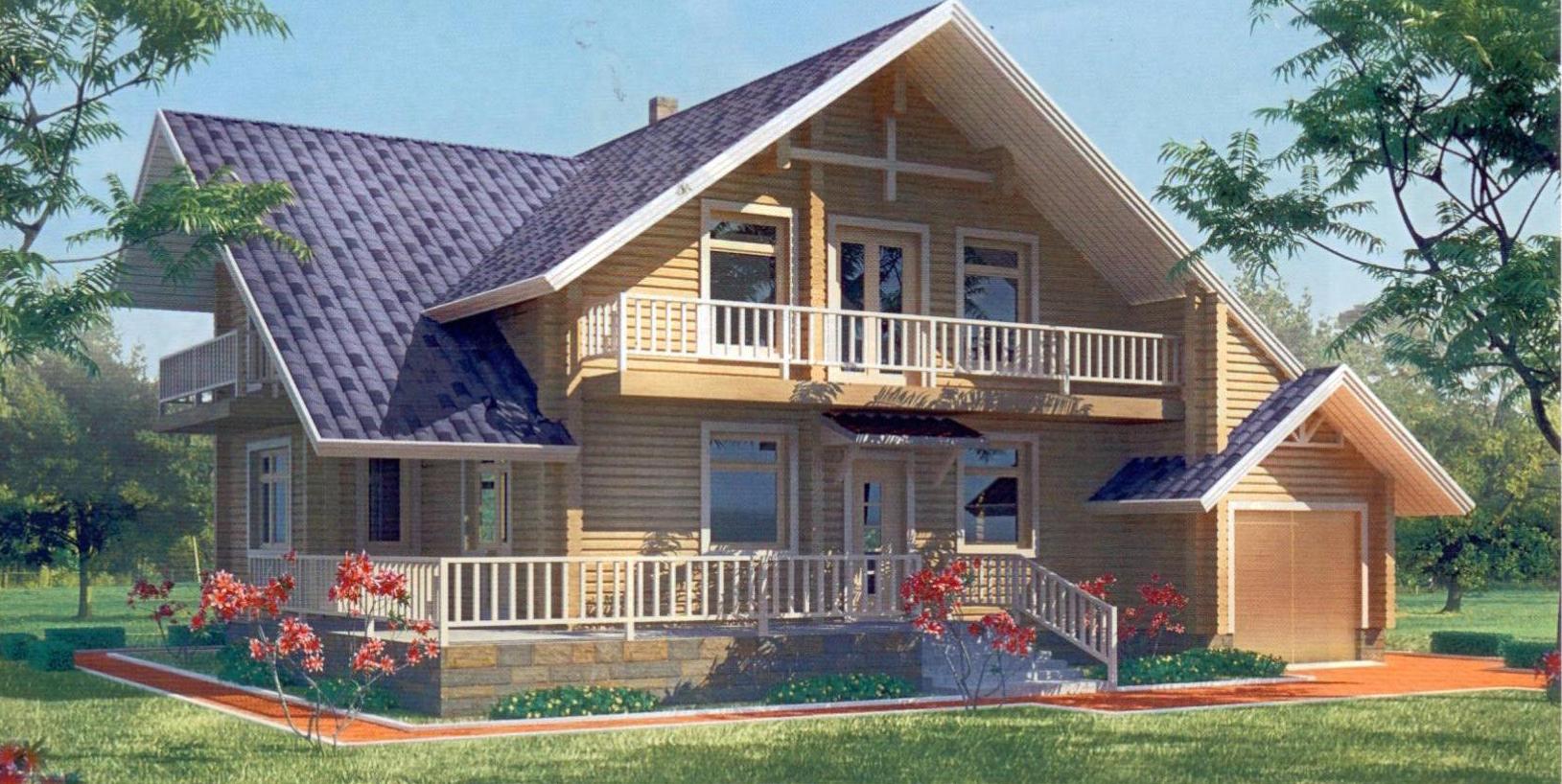 Дома из бруса на заказ из иркутска